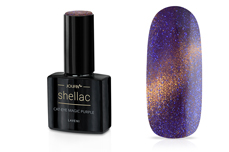 Jolifin LAVENI Shellac - Cat-Eye magic purple 12ml