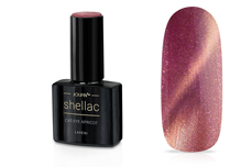 Jolifin LAVENI Shellac - Cat-Eye apricot 12ml