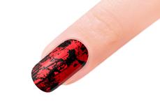 Jolifin Transfer Nagelfolie XL - Chrome red