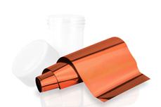 Jolifin Transfer Nagelfolie XL - Chrome copper