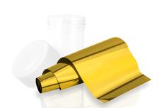 Jolifin Transfer Nagelfolie XL - Chrome rich gold