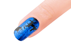 Jolifin Transfer Nagelfolie XL - Chrome ocean