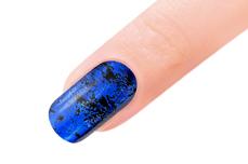 Jolifin Transfer Nagelfolie XL - Chrome night blue
