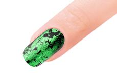 Jolifin Transfer Nagelfolie XL - Chrome green
