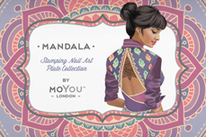 MoYou-London Schablone Mandala 15