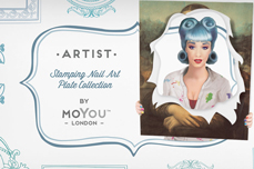 MoYou-London Schablone Artist Collection 29