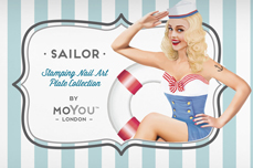 MoYou-London Schablone Sailor Collection 19
