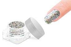 Jolifin Elegance Glitter - silver hologramm