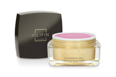Jolifin LAVENI - 2 Phasen-Gel Pediküre milky rosé 15ml