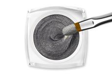 Jolifin LAVENI Farbgel - Cat-Eye sparkle chrome silver 5ml