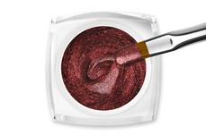 Jolifin LAVENI Farbgel - Cat-Eye sparkle chrome copper 5ml