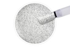 Jolifin LAVENI Shellac - silver-white Glitter 12ml
