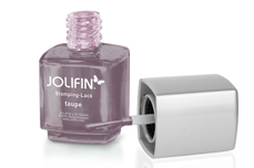 Jolifin Stamping-Lack - taupe 12ml