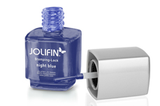 Jolifin Stamping-Lack - night blue 12ml