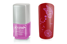 Jolifin Stamping-Lack - princess pink 12ml