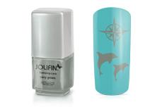 Jolifin Stamping-Lack - navy green 12ml