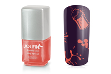 Jolifin Stamping-Lack - juicy apricot 12ml