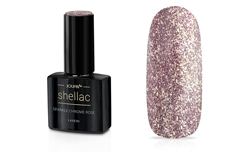 Jolifin LAVENI Shellac - sparkle chrome rosé 12ml