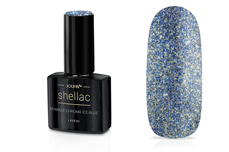 Jolifin LAVENI Shellac - sparkle chrome ice-blue 12ml