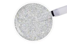 Jolifin LAVENI Shellac - white hologram Glitter 12ml
