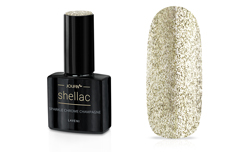 Jolifin LAVENI Shellac - sparkle chrome champagne 12ml