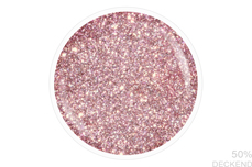 Jolifin LAVENI Shellac - sparkle chrome rosy 12ml