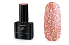 Jolifin LAVENI Shellac - sparkle chrome apricot 12ml