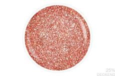 Jolifin LAVENI Shellac - sparkle chrome apricot 12ml