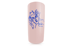 Jolifin Stamping-Gel - blue 5ml