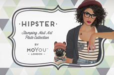 MoYou-London Schablone Hipster Collection 25