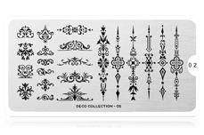 MoYou-London Schablone Deco Collection 02