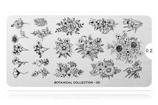 MoYou-London Schablone Botanical Collection 02