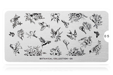 MoYou-London Schablone Botanical Collection 05