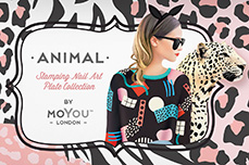 MoYou-London Schablone Animal Collection 18