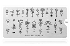 MoYou-London Schablone Henna Collection 10