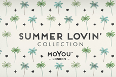 MoYou-London Schablone Summer Lovin' Collection 01