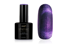 Jolifin LAVENI Shellac - Cat-Eye universe purple 12ml