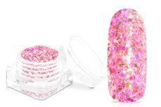 Jolifin Super-Glossy Glitter - rosy-coral