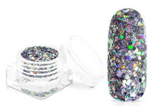 Jolifin Super-Glossy Glitter - anthrazit