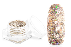 Jolifin Super-Glossy Glitter - champagne