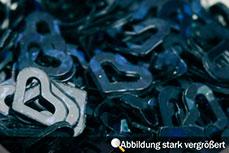 Jolifin Hologramm Herzen - schwarz