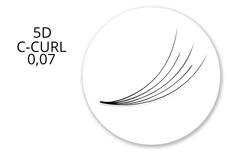 Jolifin Lashes - MixBox - 5D Wimpernfächer C-Curl 0,07