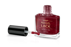 Jolifin LAVENI Nagellack - metallic red 9ml