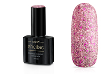 Jolifin LAVENI Shellac - sparkle chrome magenta 12ml