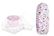 Jolifin Glitterpuder Silvermix - strawberry milkshake