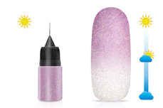 Jolifin LAVENI Diamond Dust - Solar magenta