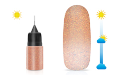 Jolifin LAVENI Diamond Dust - Solar orange