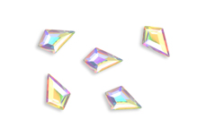 Jolifin LAVENI Strass-Diamond - small long diamond irisierend