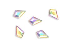 Jolifin LAVENI Strass-Diamond - small long diamond irisierend