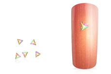 Jolifin LAVENI Strass-Diamond - small triangle irisierend